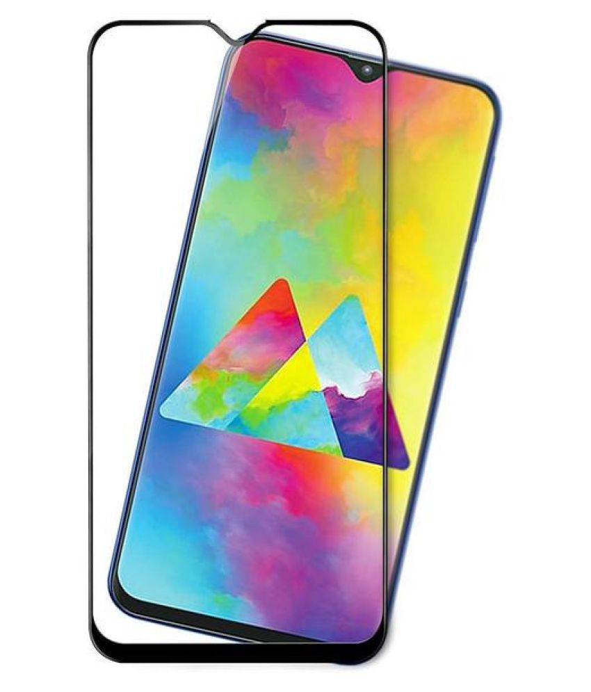 Samsung Galaxy M10s Tempered Glass Screen Guard By lenmax Japanese Advance Screen Protector Technology