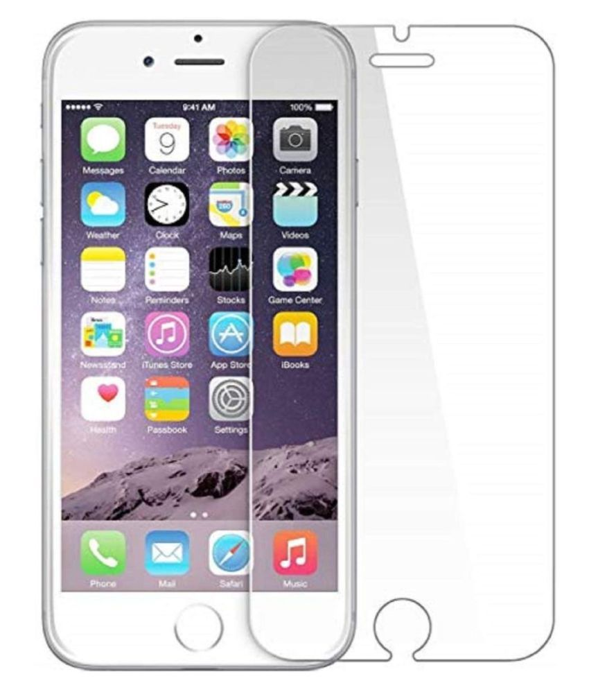 Apple iPhone 6 Plus Tempered Glass Screen Guard By lenmax UV Protection, Anti Reflection