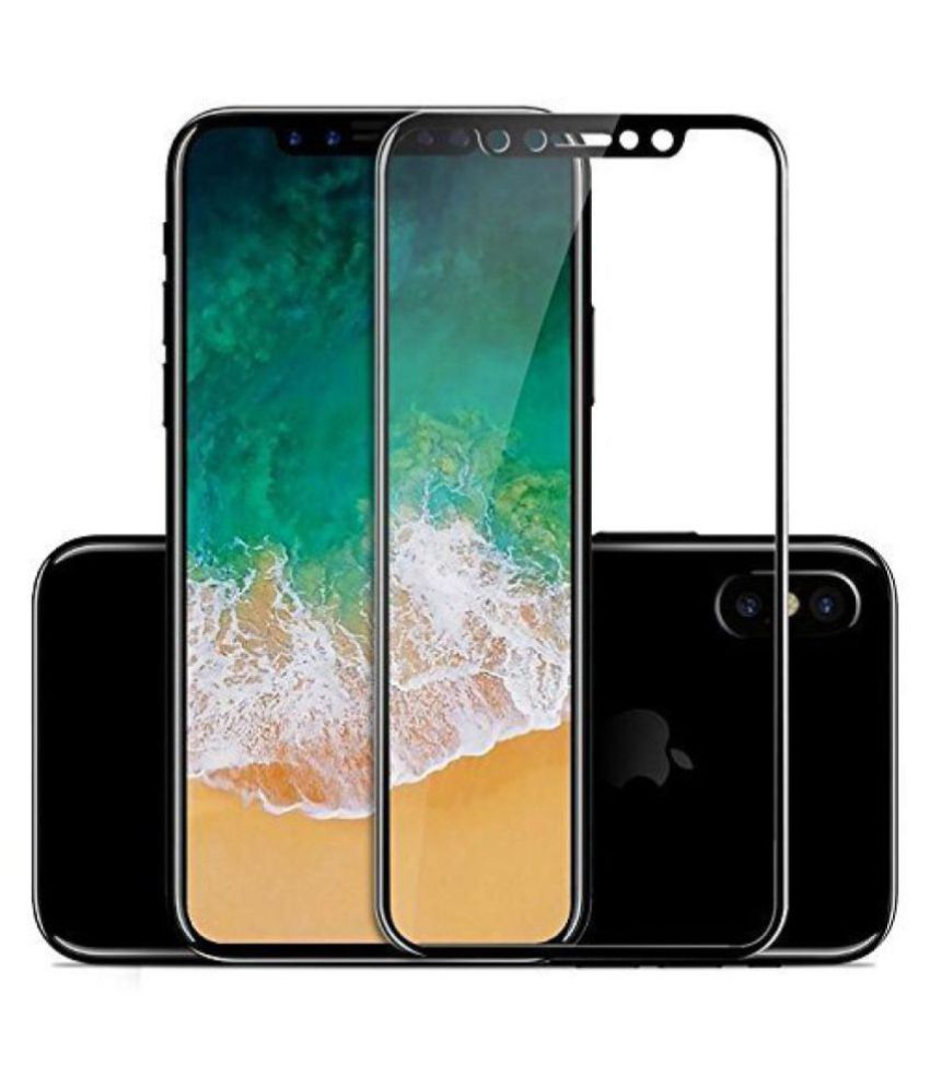 Apple iPhone XS Tempered Glass Screen Guard By lenmax UV Protection, Anti Reflection
