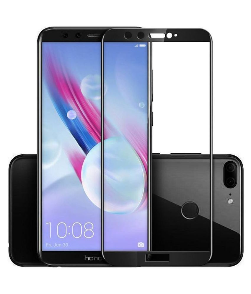 Honor 9 Lite Tempered Glass Screen Guard By lenmax UV Protection, Anti Reflection
