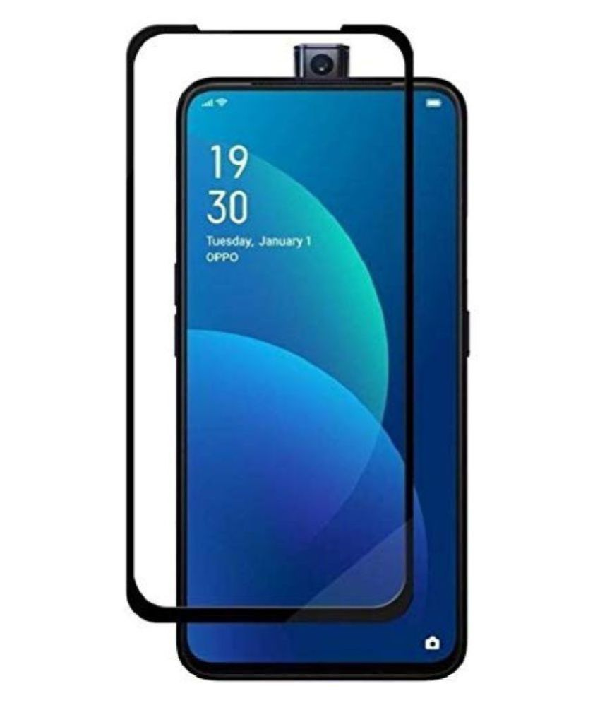 OPPO Reno 10x Zoom Tempered Glass Screen Guard By lenmax UV Protection, Anti Reflection