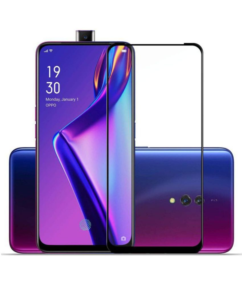 Oppo Reno 2Z Tempered Glass Screen Guard By lenmax UV Protection, Anti Reflection
