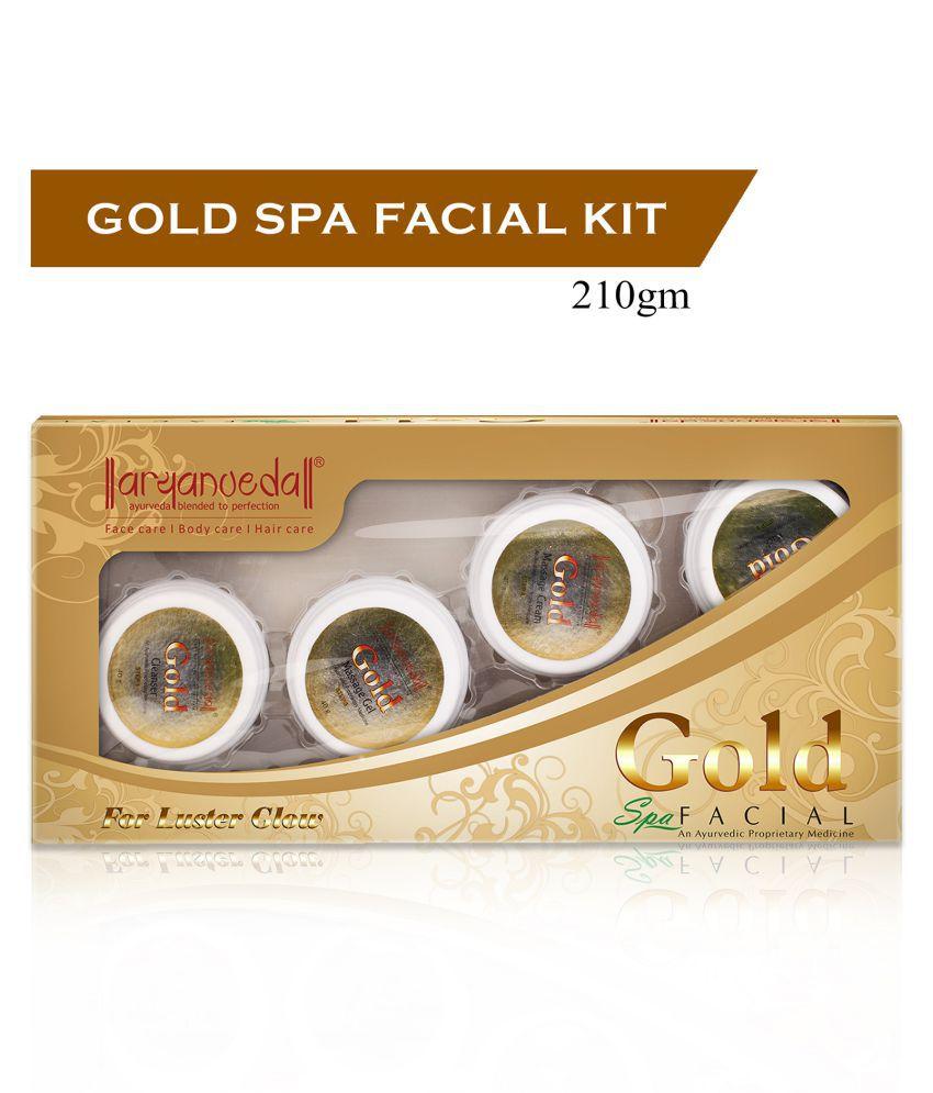 Aryanveda Gold Spa 210 Gm Facial Kit g