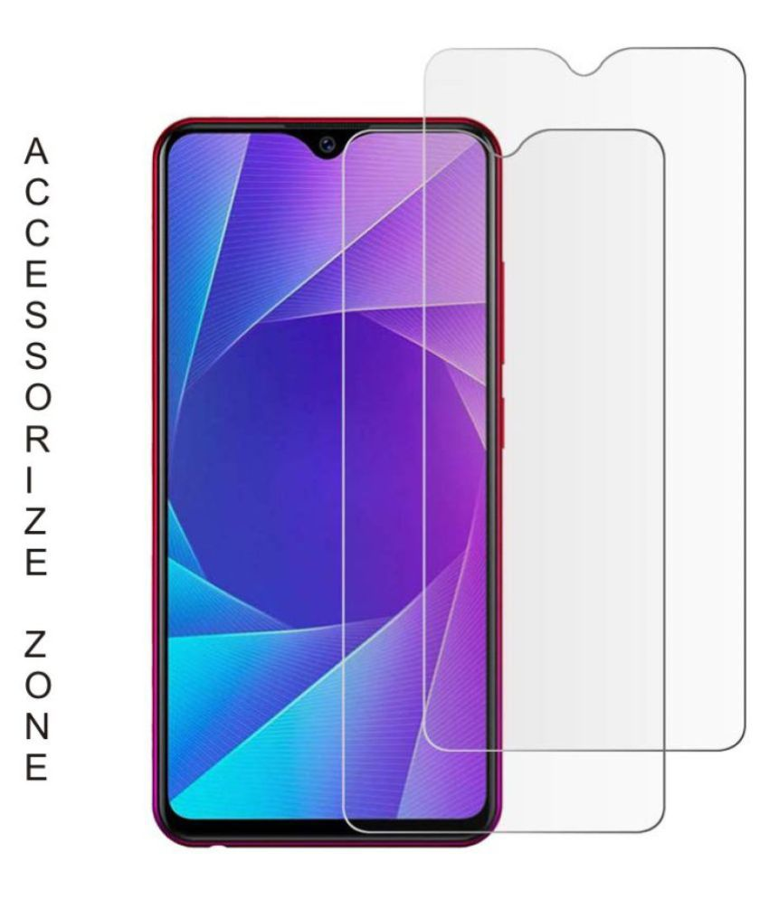 Vivo Y17 Tempered Glass Screen Guard By lenmax UV Protection, Anti Reflection