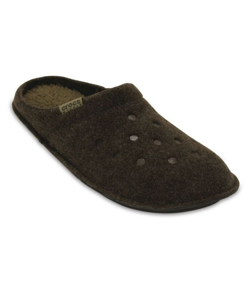 Crocs Brown Slippers