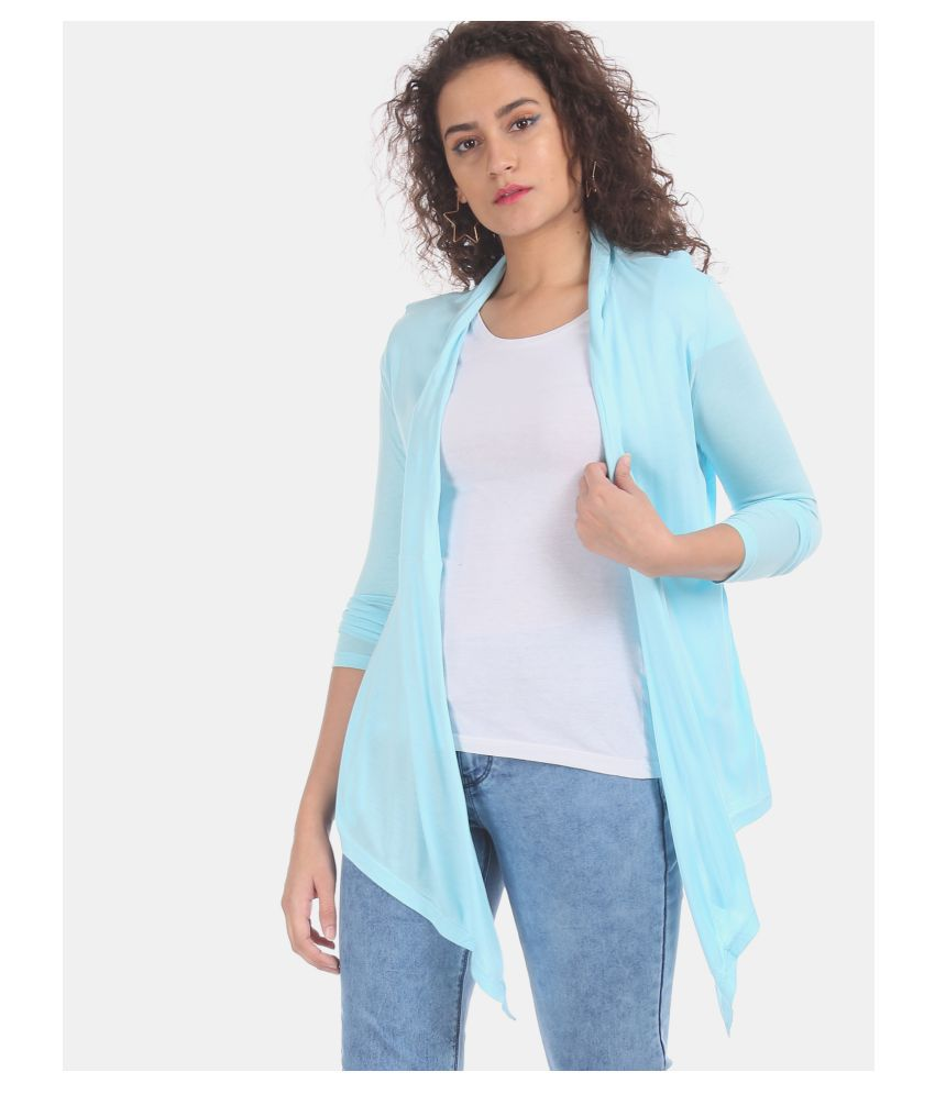 Sugr Viscose Shrugs - Blue