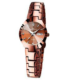 Keep N Touch Stainless Steel Diamond Womens Watch