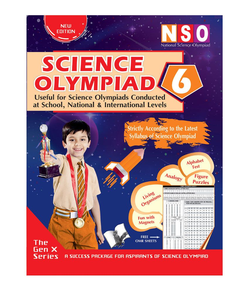National Science Olympiad - Class 6 (With CD)