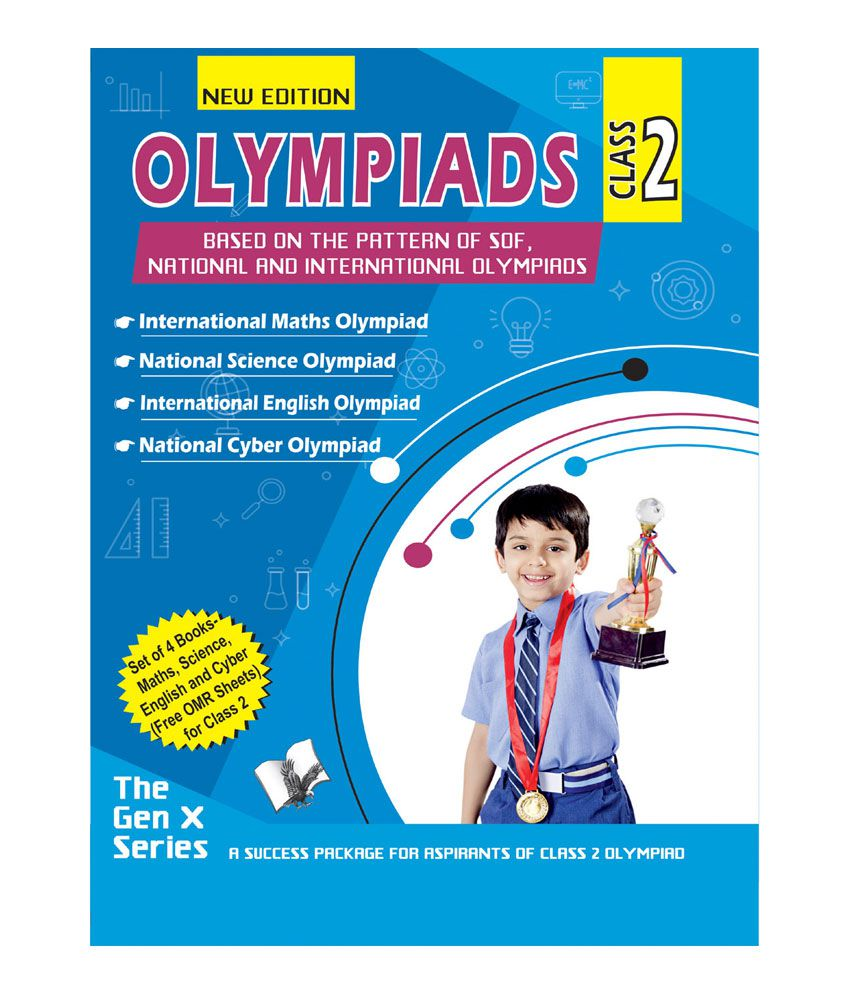 Olympiad Value Pack Class 2 (4 Book Set)