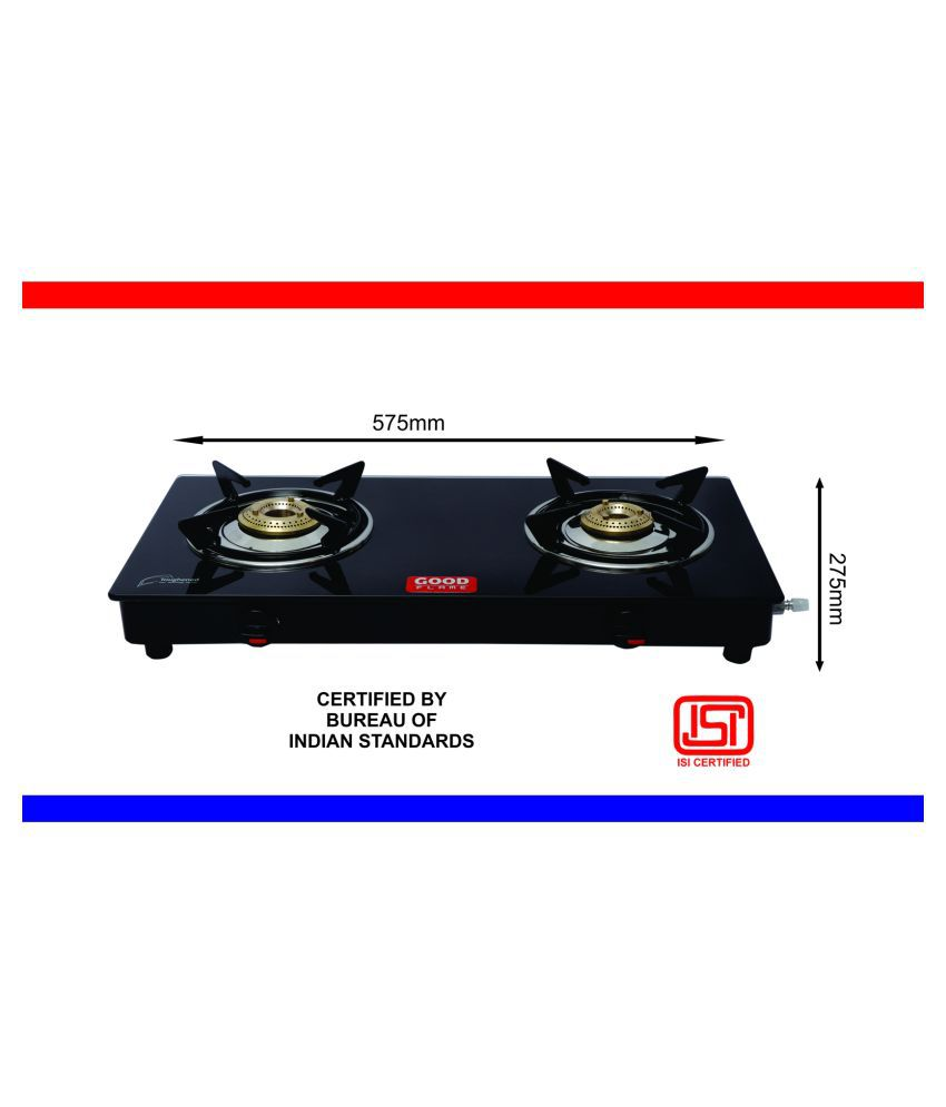 Nano Series 2 Burners Manual Gas Stove