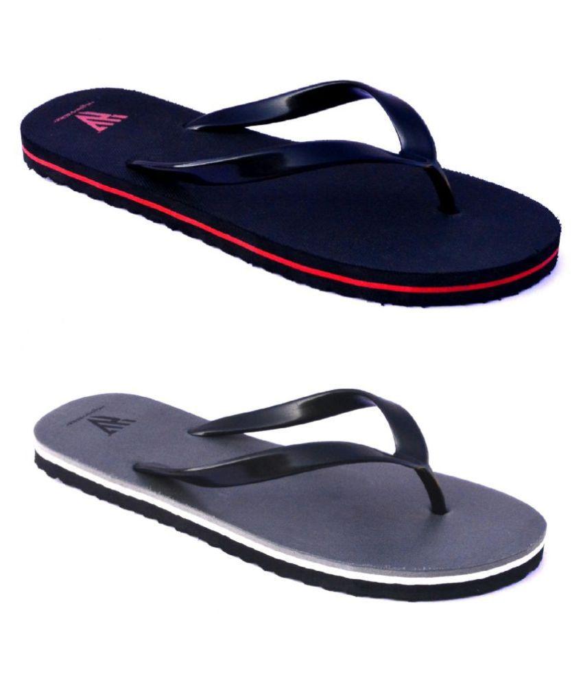 HighWalker Black Daily Slippers