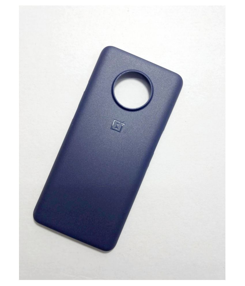 OnePlus 7T Plain paper case - Blue