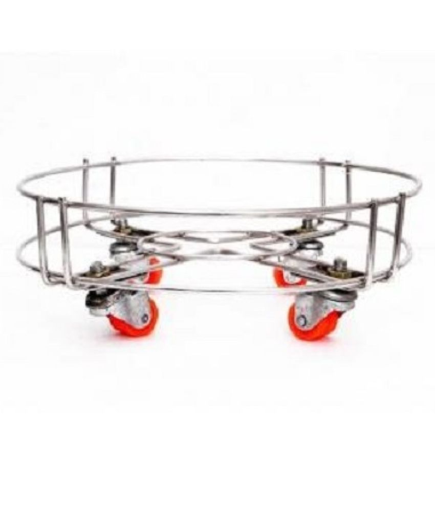 TNC Stainless Steel Cylinder Trolley
