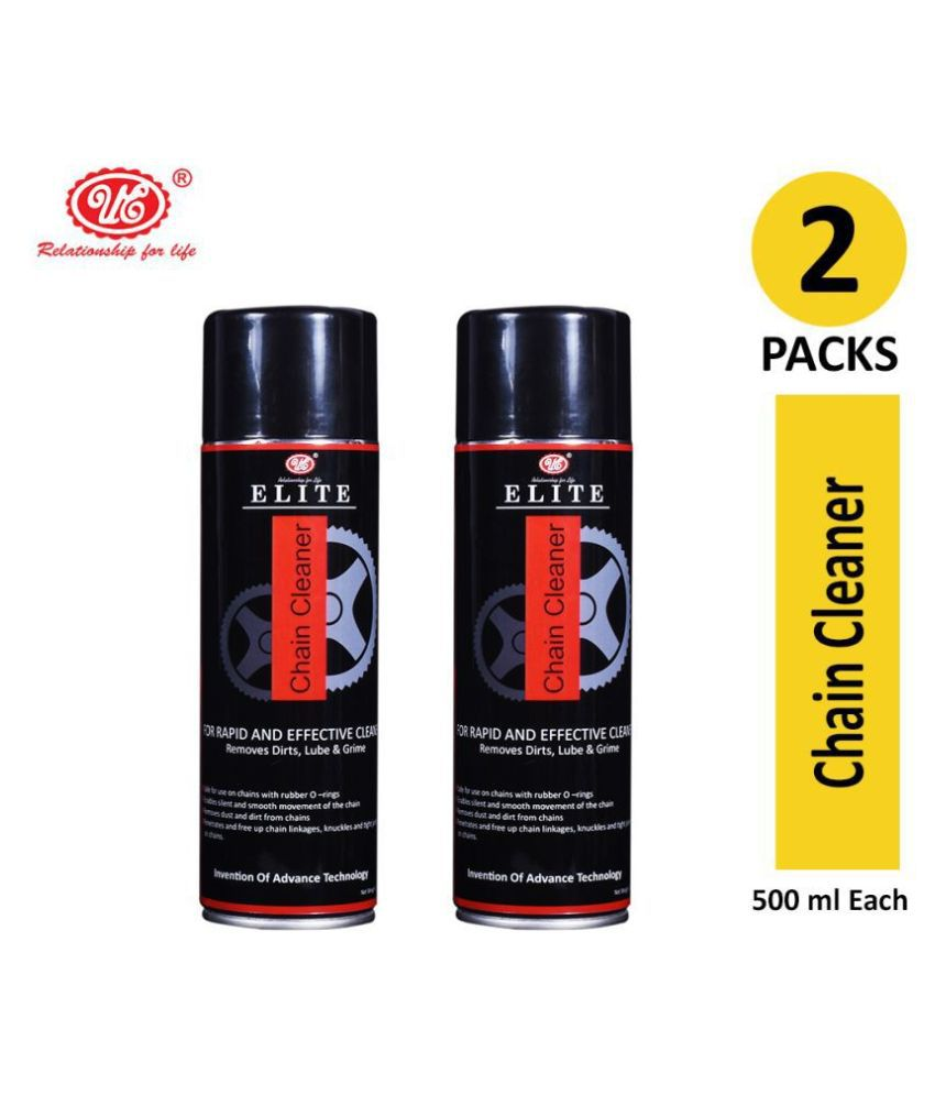 UE Elite Chain Cleaner Remove Dirt, Lube & Grime For Rapid and Effective Cleaner - 500 ML (Pack of 2)