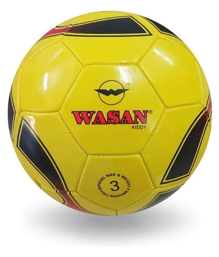 wasan Kiddy Football Yellow Football Size  3