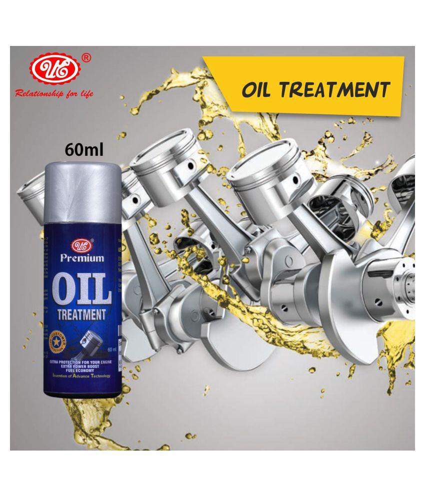 UE Autotech Premium Engine Oil Treatment 60 ML For Engine Lubrication, Friction & Sound Reduction