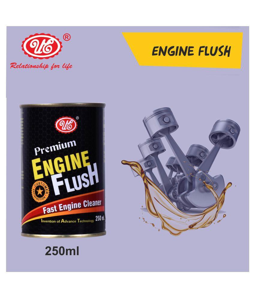 UE Premium Engine Oil Motor Flush to Remove Sludge & Deposits in All Petrol & Diesel Car - 250 ml Car Care/Car Accessories/Automotive Products