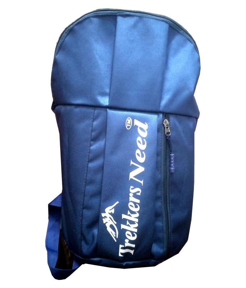 Trekkers Need Blue Backpack