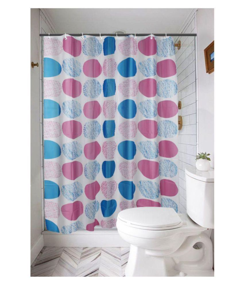 Khushi Creation Single Shower Curtain Multi Others
