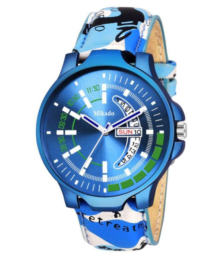 cool Men's blue Watch