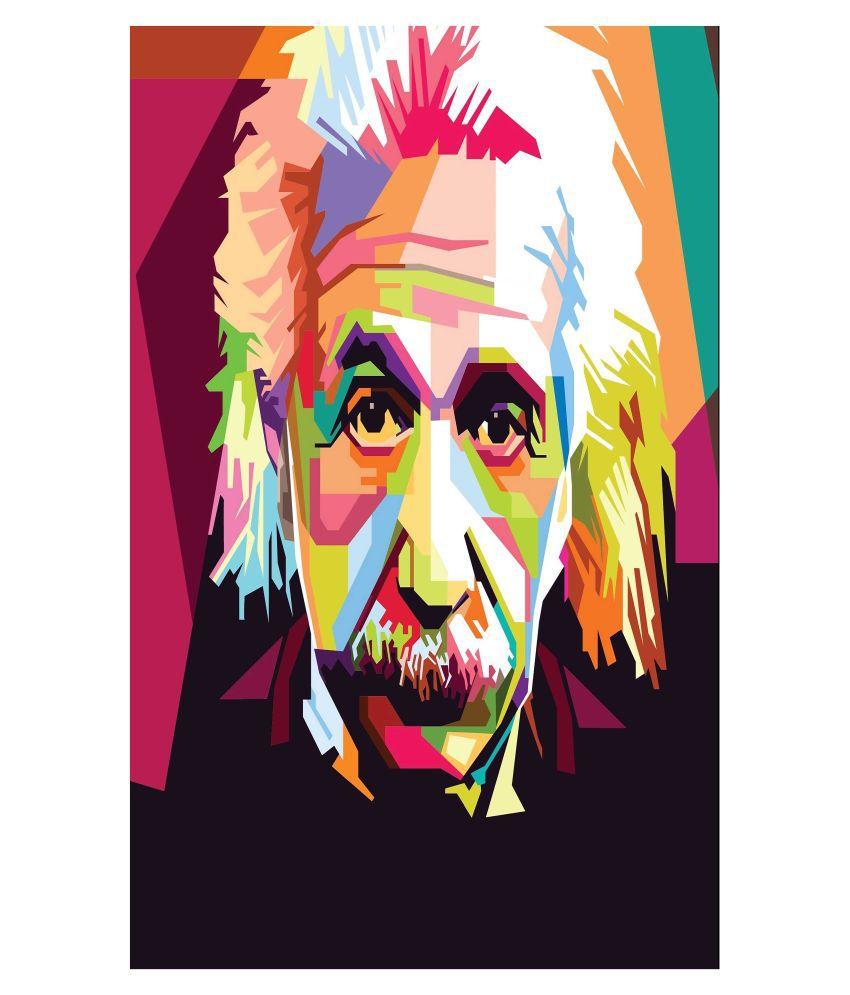 Albert Einstein Wall Poster 45X30 CM, 300 GSM