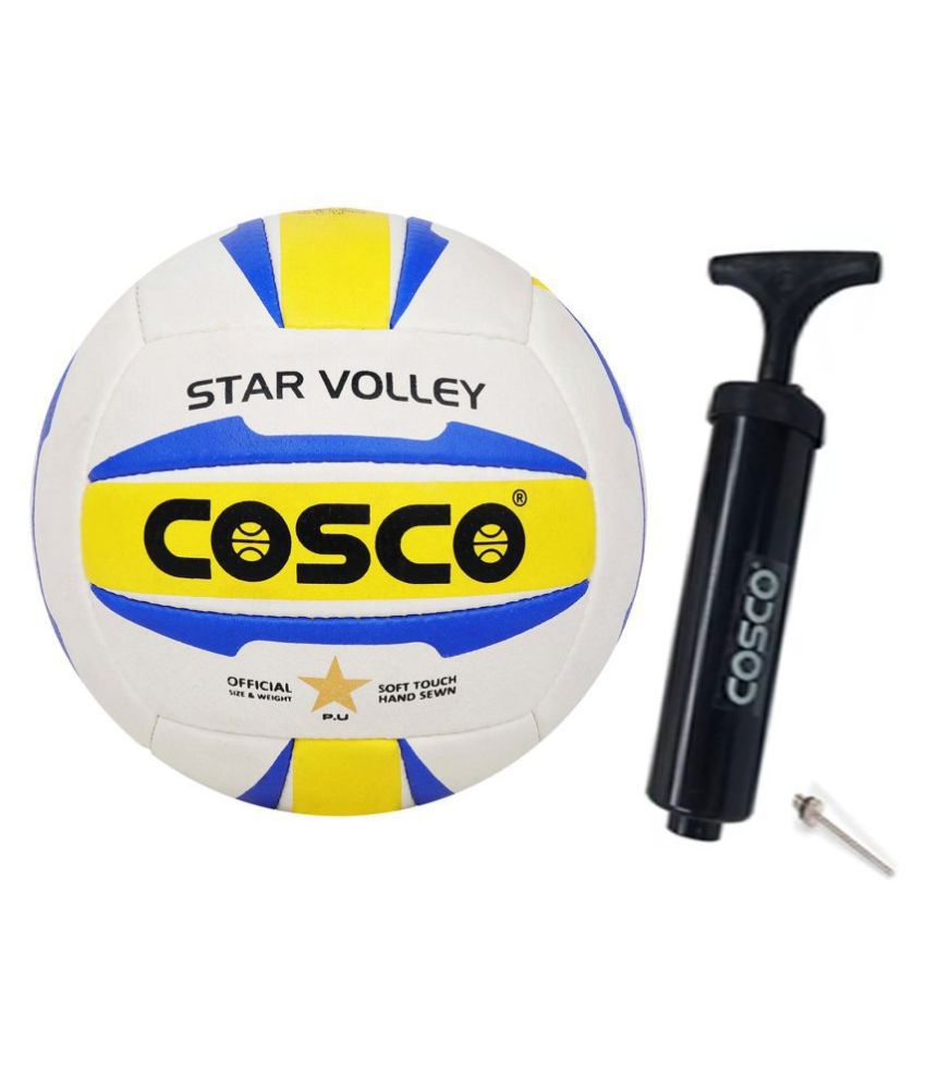 Cosco Star Volley With Ball Pump Size 4 Volleyball
