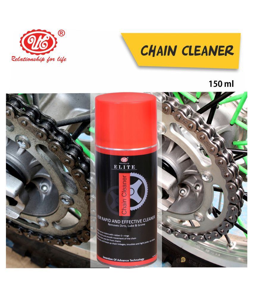 UE Elite Chain Cleaner Remove Dirt, Lube & Grime For Rapid and Effective Cleaner - (150 ML) Car Care/Car Accessories/Automotive Products