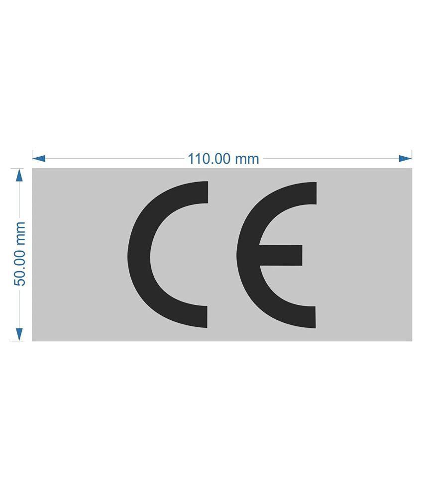 Rangvishwa  Enterprises CE  - Rectangle Label Sticker ( 11 x 5 cms )