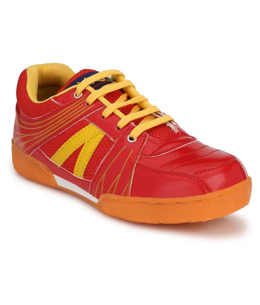 VSS Red Indoor Court Shoes