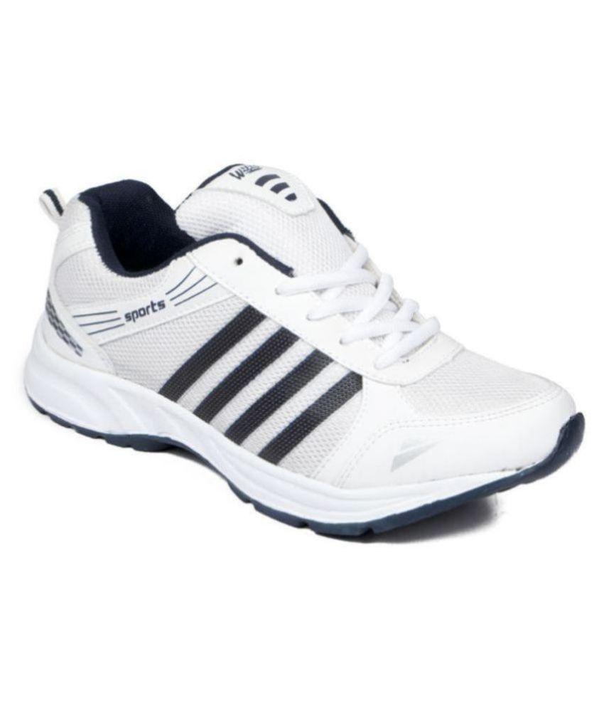 ASIAN WONDER-13 White Running Shoes