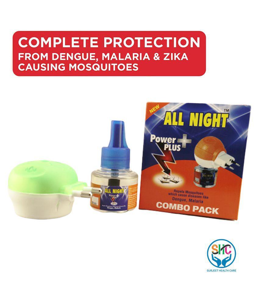 AllNight Mosquito Repellent Vaporizer lavendar 450 g Pack of 9 60