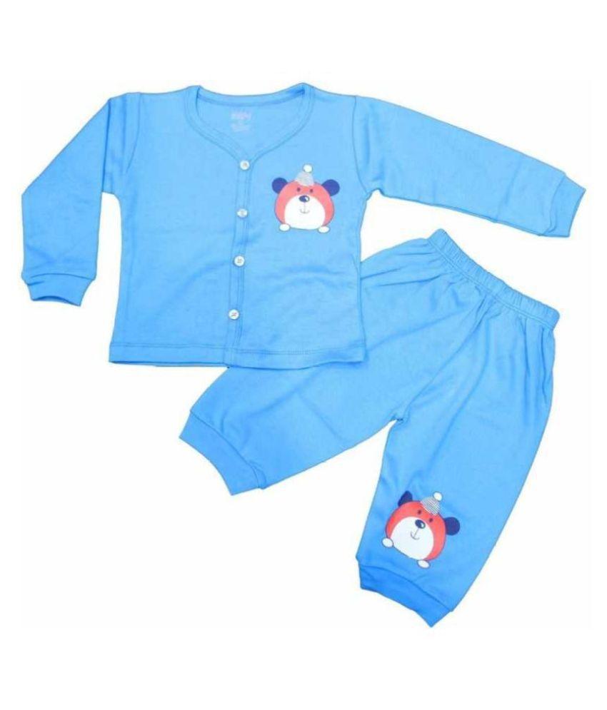 LOVELYLAP 100% Cotton High Quality Full Length T-Shirt Pyjama Set