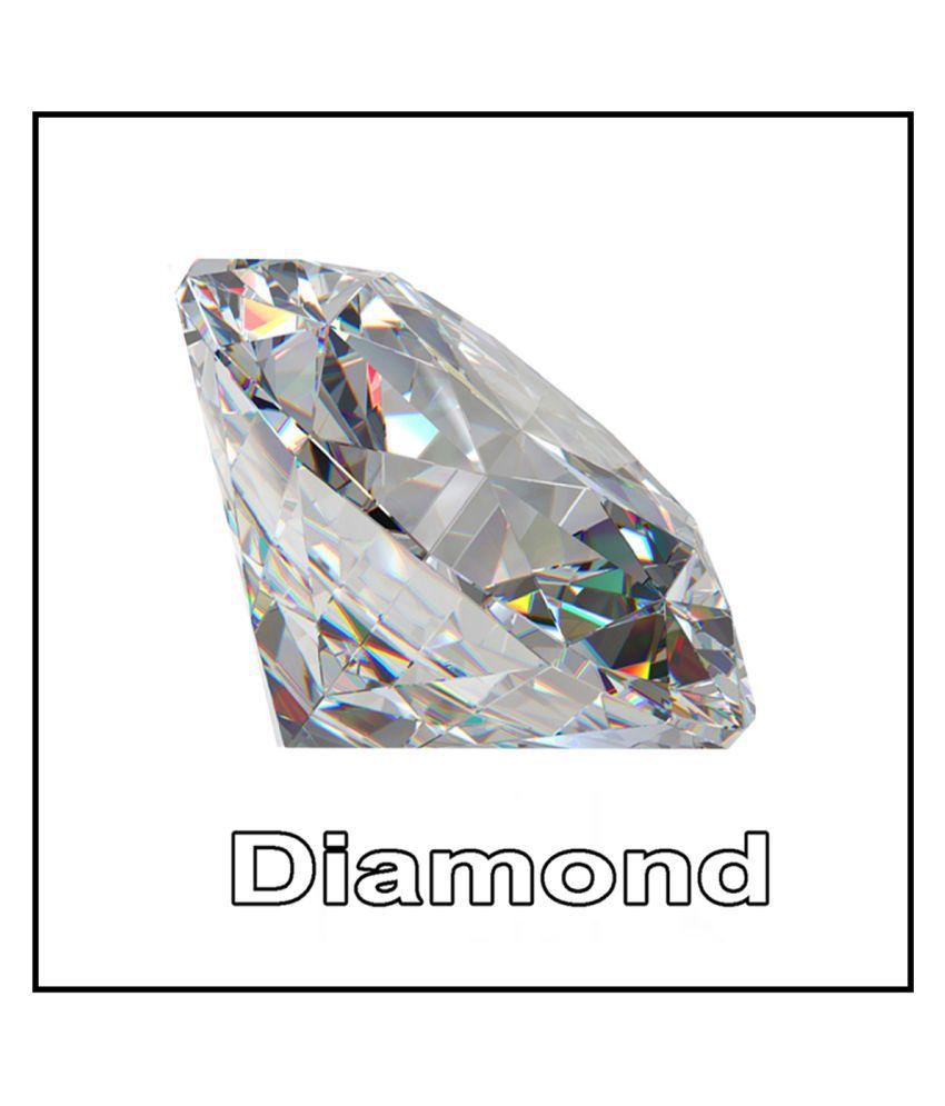 R.K Gems/6.25 Carat Original American Diamond (Zircon)