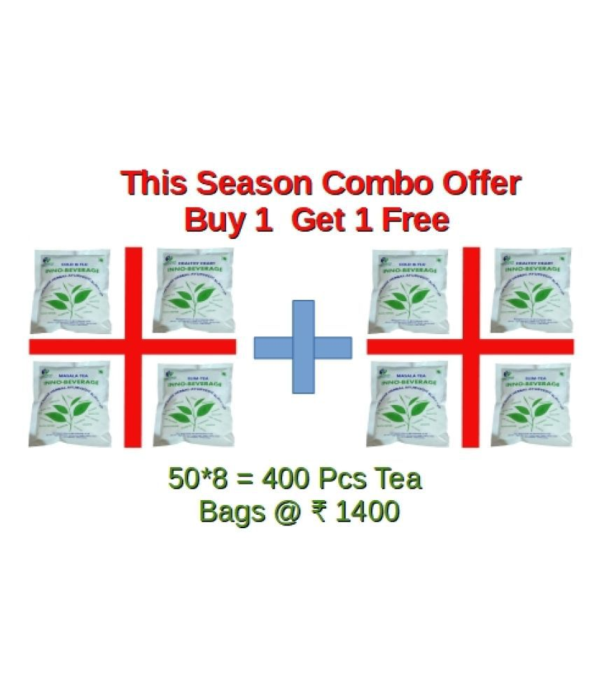 inno-beverage Weight Loss Tea Bags 900 gm Pack of 8