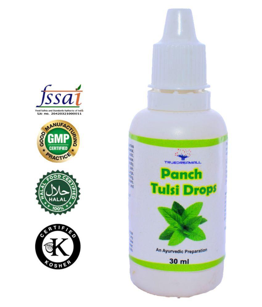 TRUEDREAMALL PANCH TULSI Liquid 30 ml Pack Of 1