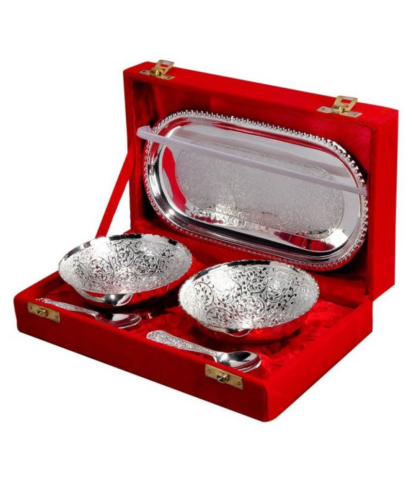 Arsalan Silverplated Gold/Silver Plated Gift Item - Pack of 5