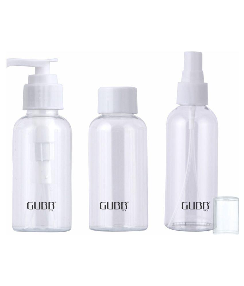 Gubb Travel Bottles