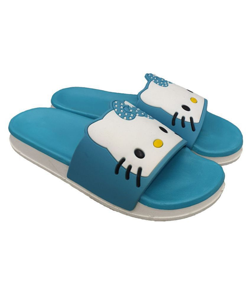 Pampy Angel Blue Slippers
