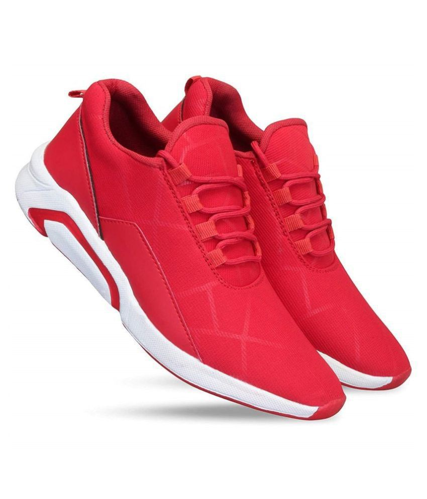 hoc shoes Red Casual Shoes
