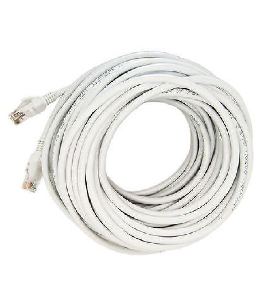 Upix 4.5m LAN Ethernet , Patch Cord CAT5E, RJ45 Cable   White