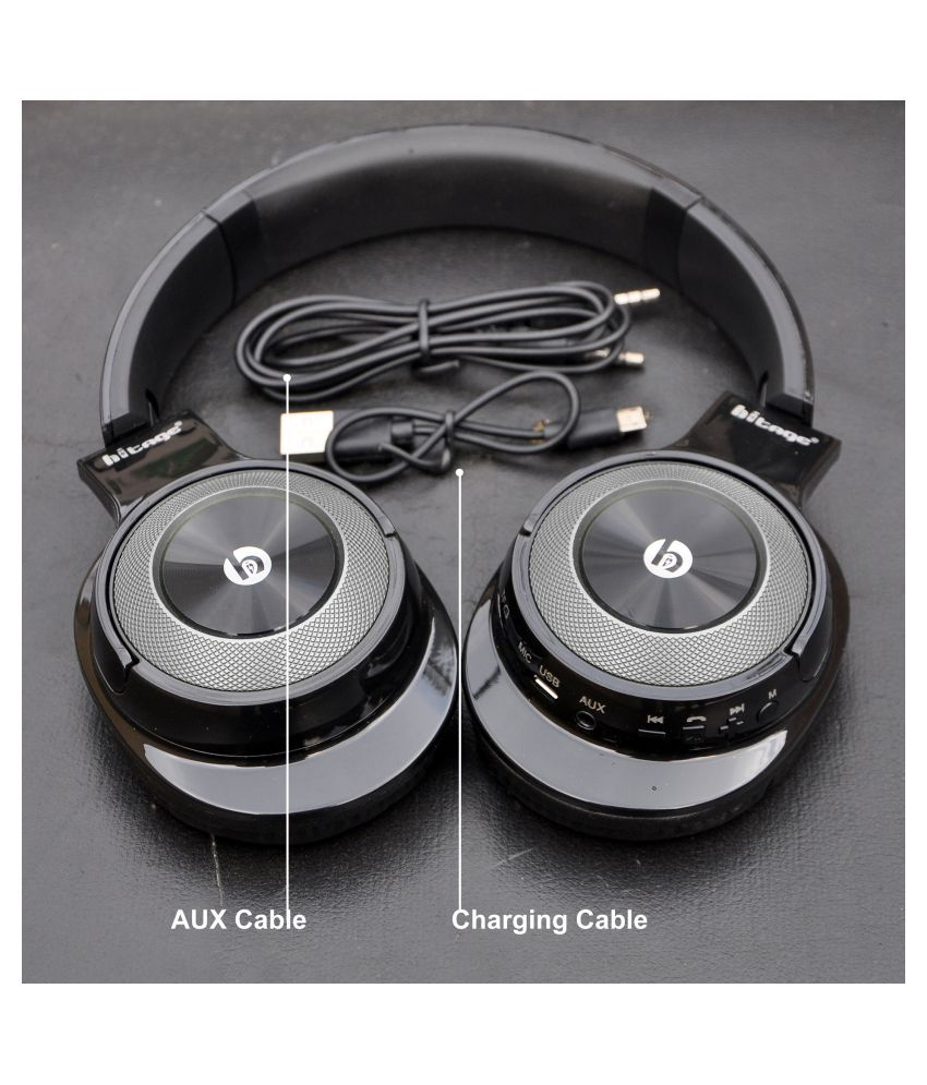 Hitage Different Standing Sense  amp; Stereo Game Over Ear Bluetooth Headphone/ Bluetooth earphone Wireless With Mic Headphones/Earphones