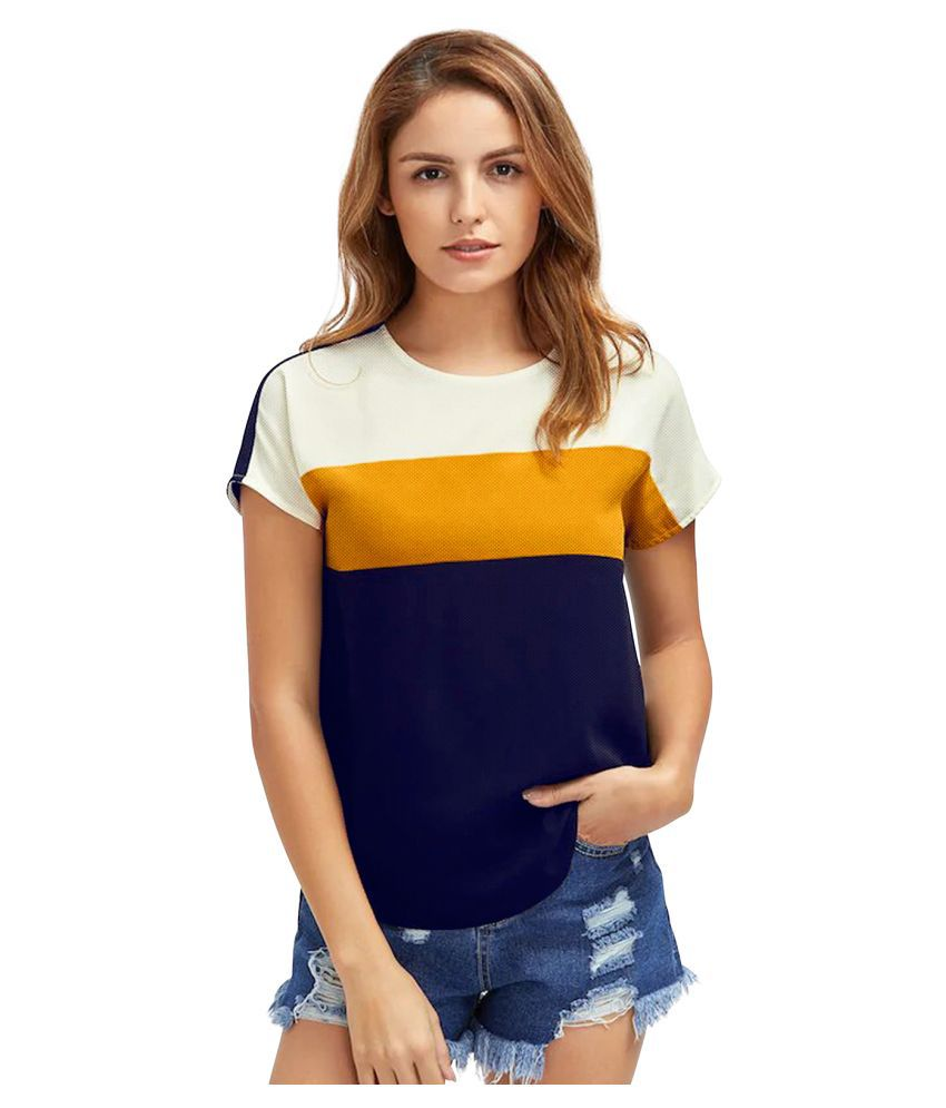 Kusum International Yellow Blend Shirt
