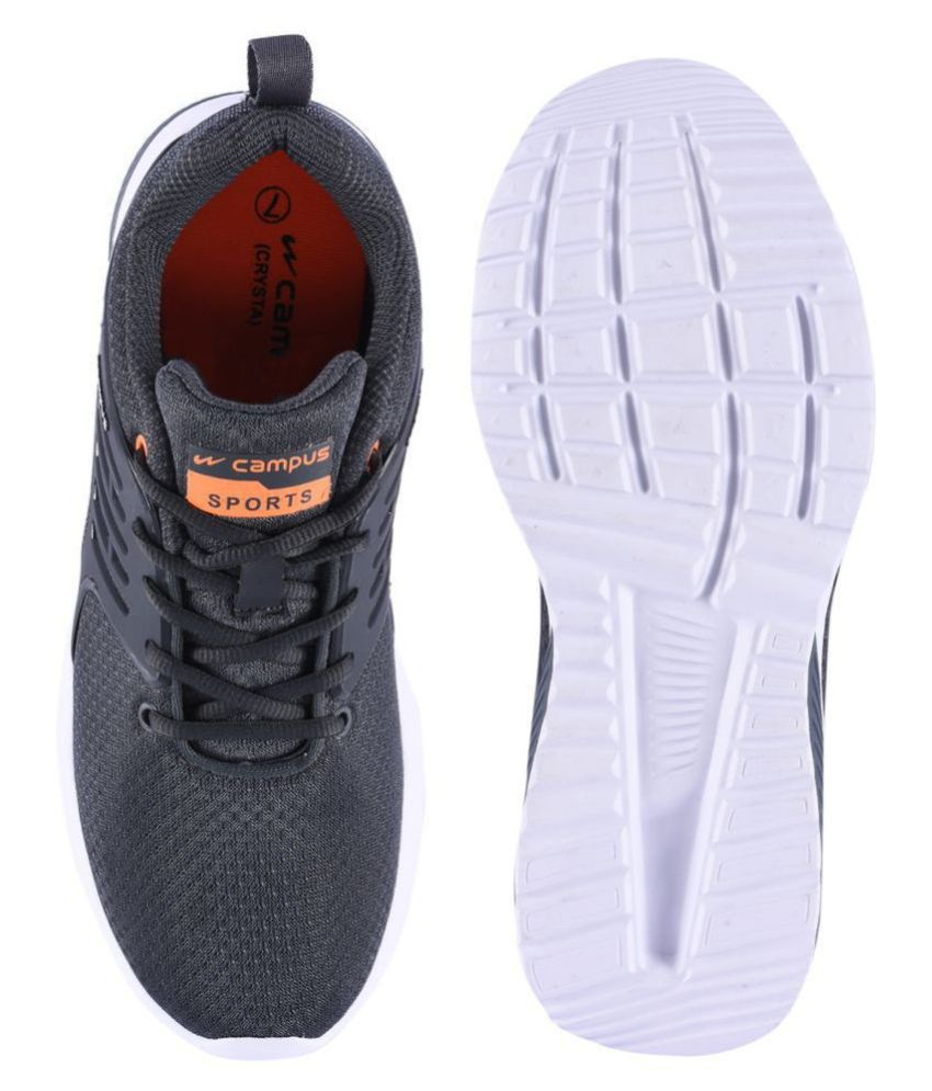 Campus CRYSTA Gray Running Shoes - Buy