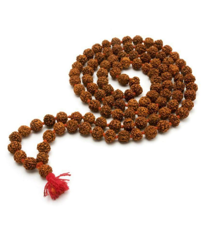 6 mm rudraksha japa mala 108 beads original rudraksha certified mala original rudraksha mala for men rudraksha mala for women jap mala 108 beads rudraksha rudraksha jap mala 108 +1 bead.