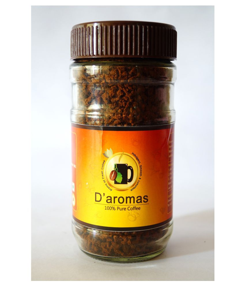 D'aromas Instant Coffee Powder 100 gm(Pack Of 10): Buy D'aromas Instant Coffee Powder 100 gm ...