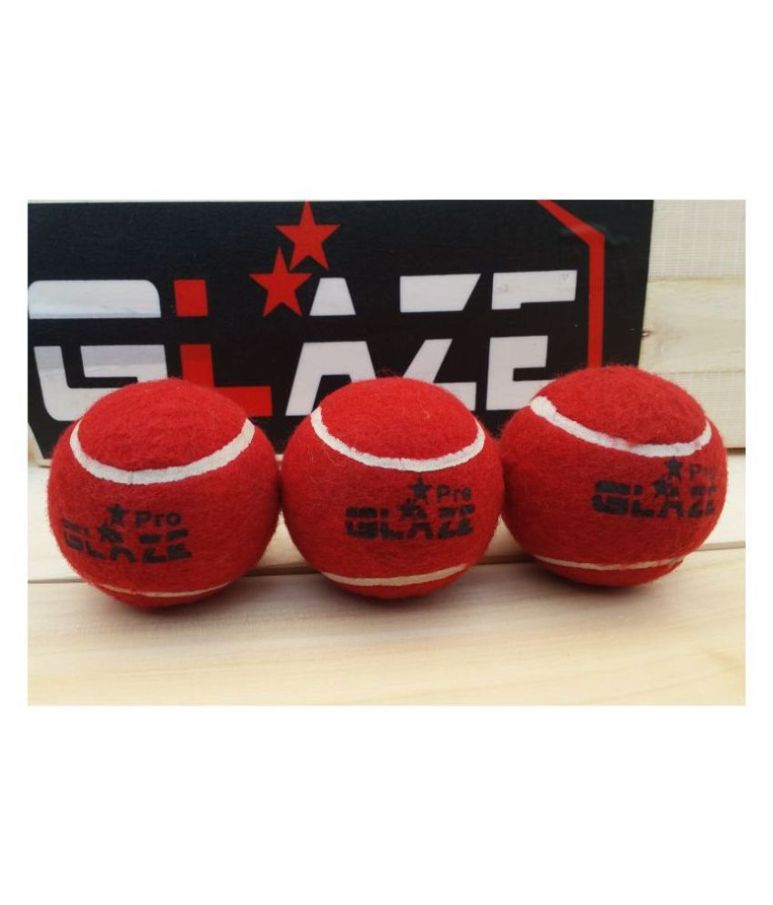 Cricket Red Pro Heavy Tennis Ball