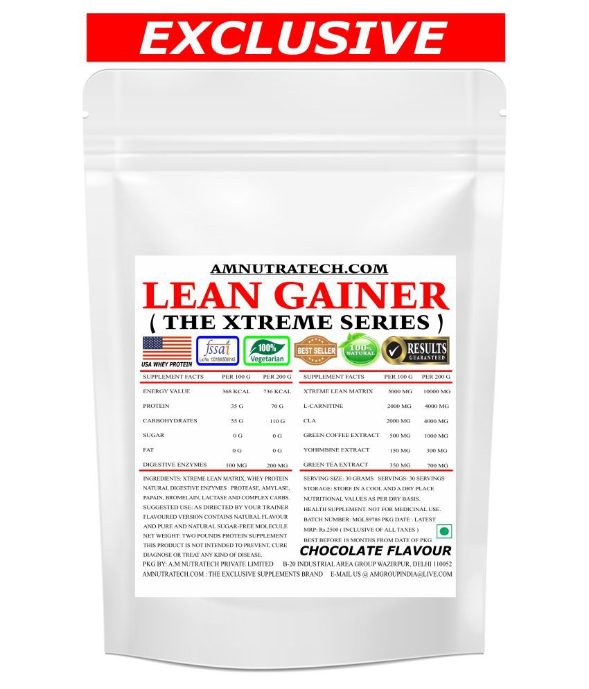 AM NUTRATECH Lean Gainer 2 lb Chocolate
