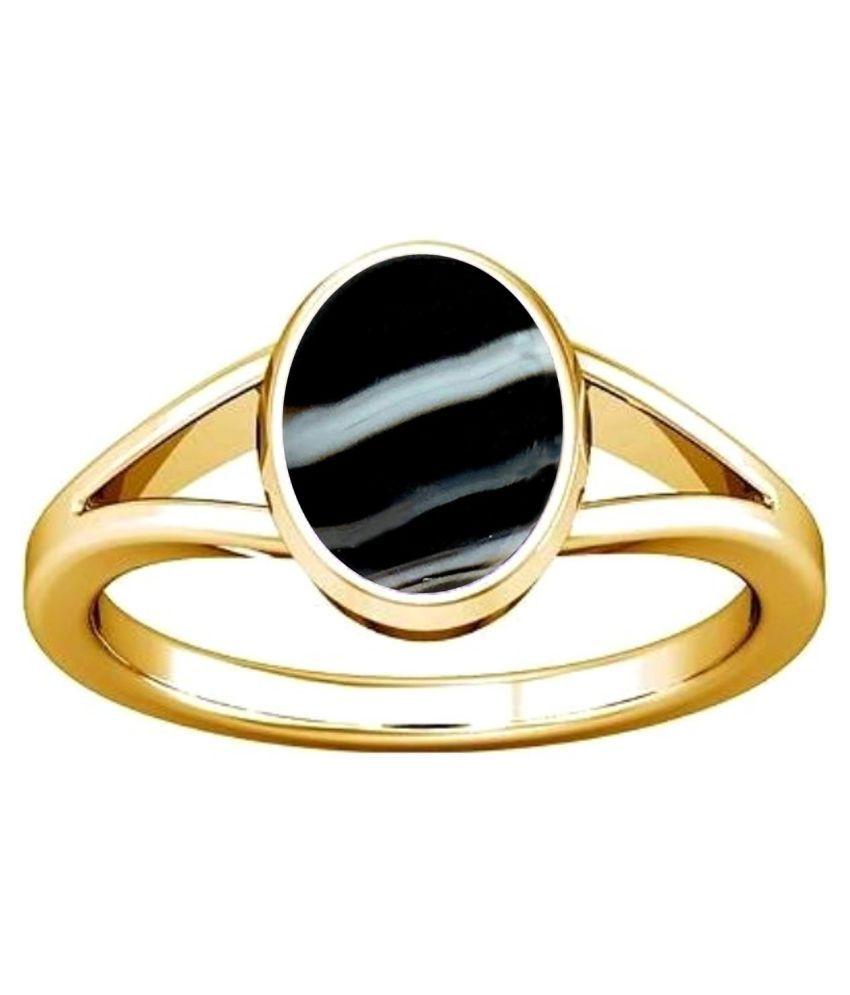 Divya Shakti 7.25-7.50 Ratti Sulemani Hakik Gemstone Panchadhatu Ring AAA Quality