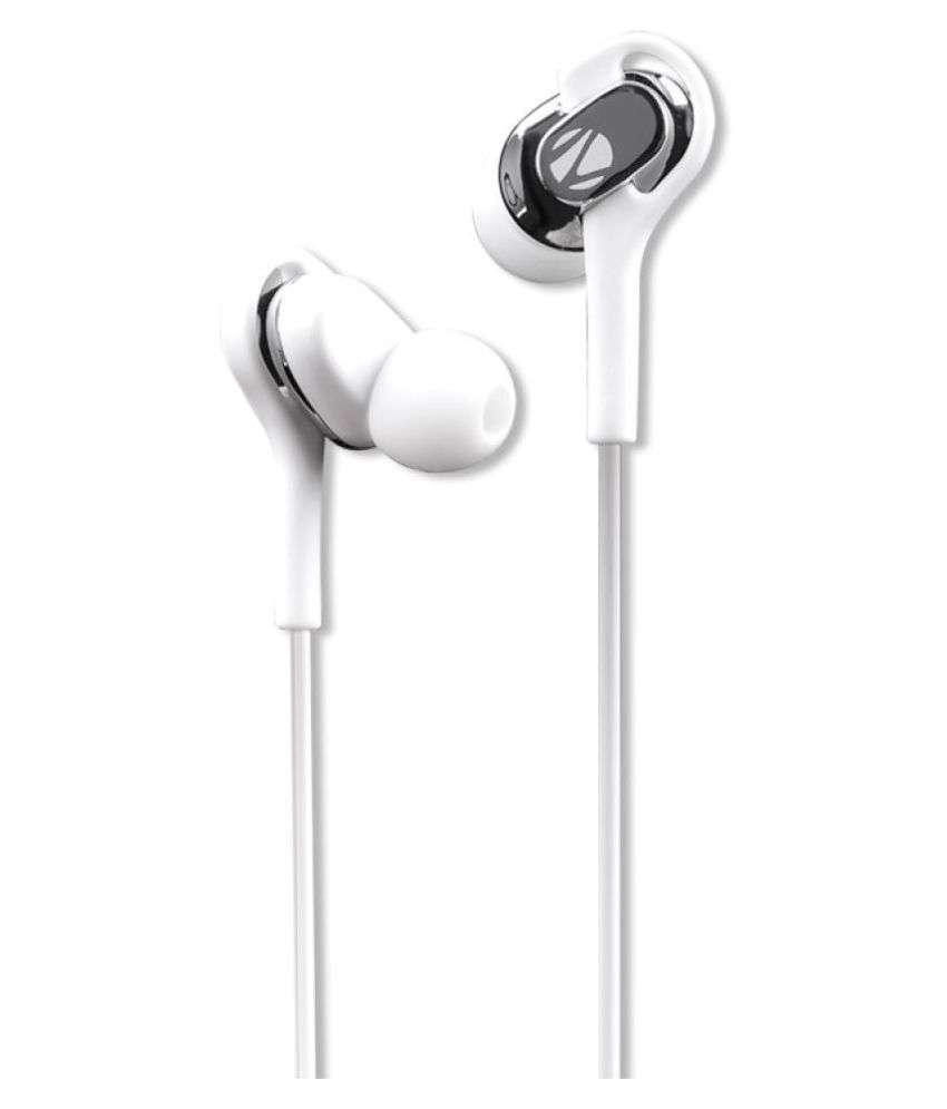 Zebronics Temptation Ear Buds Wired With Mic Headphones/Earphones