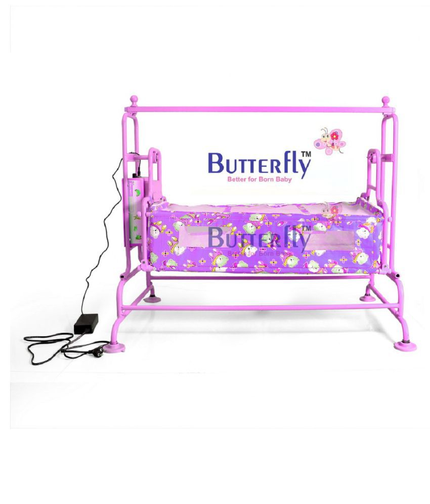 Automatic Baby Cradle super PINK